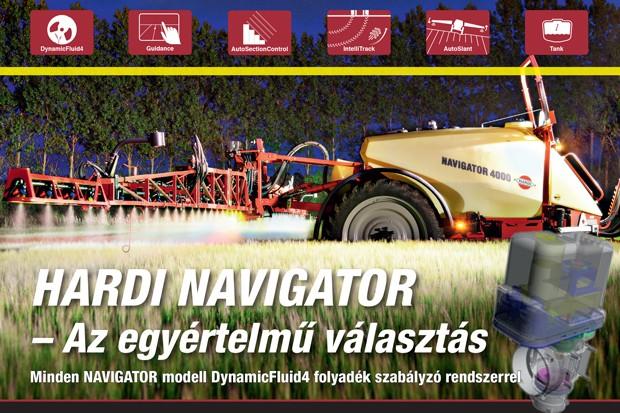 Hardi Navigator – Az egyértelmű választás