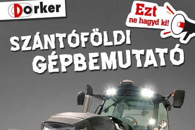 Meghívó - Szántóföldi gépbemutató Győrújbarát