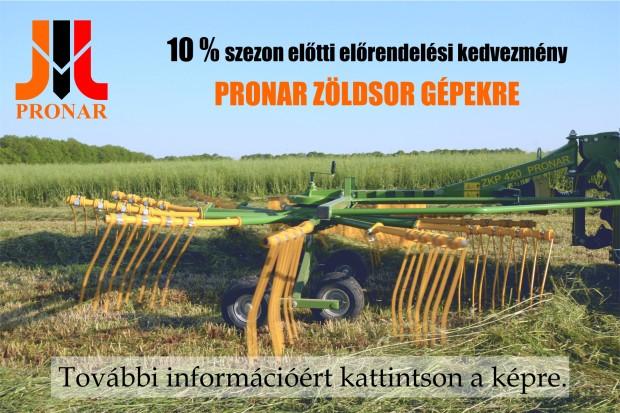 Szezon előtti kedvezmény Pronar zöldsor gépekre