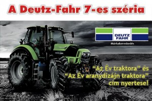 A Deutz Fahr a 2013-as év traktora!
