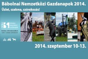 Bábolnai Nemzetközi Gazdanapok 2014.