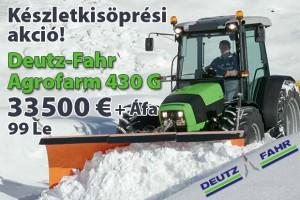 Deutz-Fahr 430G akció!