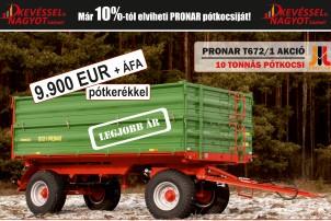 Pronar T672/1 akció