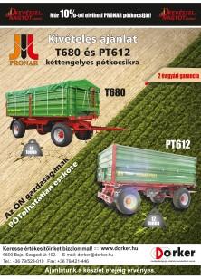 Pronar T680 és PT612 kivételes ajánlat