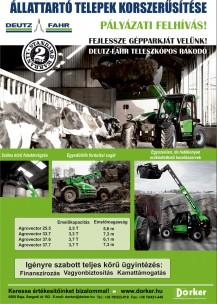 ÁTK - Deutz-Fahr Agrovector teleszkópos rakodó