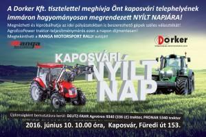 Meghívó - Kaposvári nyílt nap