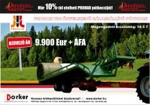Pronar TB4 önfelszedő bálaszállító pótkocsi