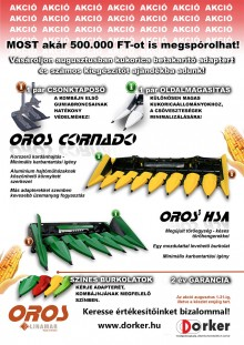 Oros kukorica adapterek akcióban