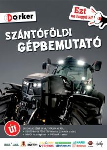 Győrújbaráti szántóföldi gépbemutató - Meghívó
