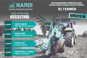 Nardi munkagépek készletről - Demo lehetőséggel