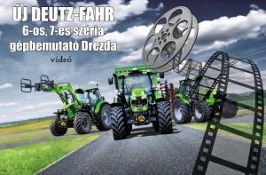 Bemutatták az új szériás Deutz-Fahr modelleket - Videó