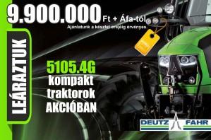 Deutz-Fahr 5105.4G traktorok AKCIÓBAN