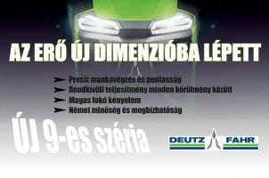 Az erő új dimenzióba lépett - Deutz-Fahr 9340 Agrotron TTV