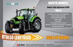 Deutz-Fahr Agrotron 6190 - Utolsó lehetőség